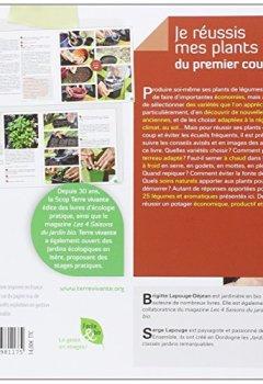 Livres Couvertures de Je réussis mes plants du premier coup ! : Pour un potager autonome et productif