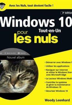 Livres Couvertures de Windows 10 pour les Nuls Tout en 1, 3e édition