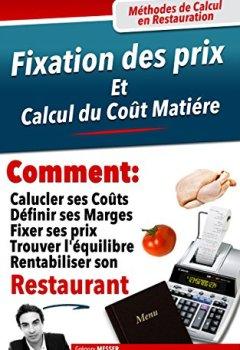 Livres Couvertures de Comment fixer les prix de la carte de son restaurant ?