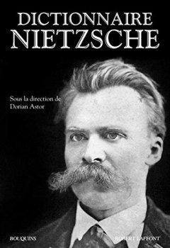 Livres Couvertures de Dictionnaire Nietzsche