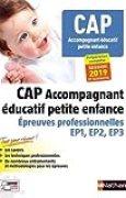 Épreuves professionnelles CAP Accompagnant Educatif Petite enfance