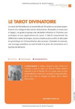 Livres Couvertures de Le tarot divinatoire : Jeu de cartes offert