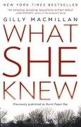 Buchdeckel von What She Knew: The worldwide bestselling thriller (English Edition)