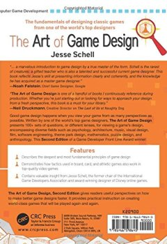 Livres Couvertures de The Art of Game Design: A Book of Lenses, Second Edition.