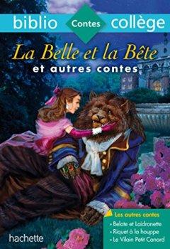 Livres Couvertures de Bibliocollège - La Belle et la Bête et autres contes - nº 68