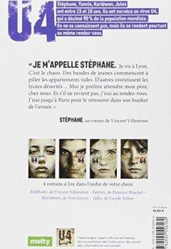 Livres Couvertures de U4 Stéphane