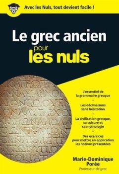 Livres Couvertures de Le grec ancien pour les Nuls poche