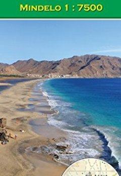 Livres Couvertures de São Vicente (Cabo Verde) 1 : 35000, Mindelo 1 : 7500 (Carte de randonnée et de loisirs du Cap-Vert)