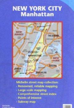 Livres Couvertures de Plan New York City Manhattan.