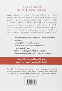 Livres Couvertures de La cure anti-candidose : 90 jours pour se débarrasser des levures et champignons