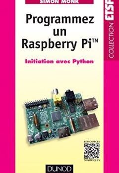 Livres Couvertures de Programmez un Raspberry Pi : Initiation avec Python (ETSF)