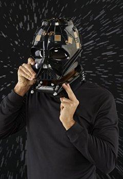 Livres Couvertures de Star Wars Black Series Casque Électronique Dark Vador, Garçon, E0328, Unique