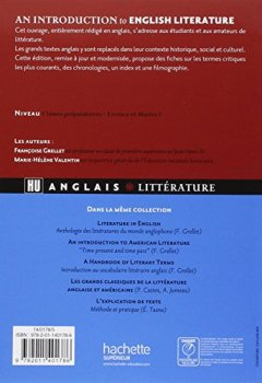 Livres Couvertures de An introduction to english literature - From Philip Sidney to Graham Swift