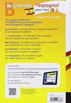 Livres Couvertures de Bescherelle L'espagnol pour tous: Grammaire, Vocabulaire, Conjugaison...