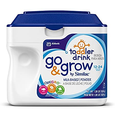 Similac Go and Grow Stage 3, for helping balance toddler's diet. Now that your baby is growing bigger and eating more table food, it can be hard to tell if she is getting the nutrition she needs. Similac Go and Grow formula can help ensure your older...