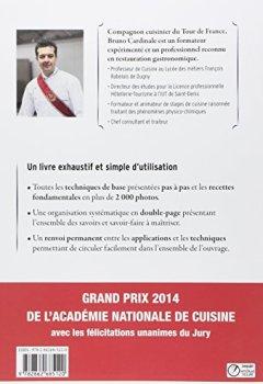 Livres Couvertures de Livre du cuisinier : Les techniques professionnelles - Les recettes fondamentales