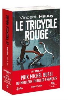 Livres Couvertures de Le tricycle rouge - Prix Michel Bussi du meilleur thriller français