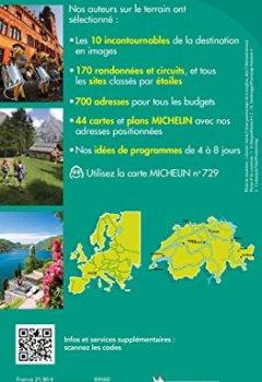 Livres Couvertures de Guide Vert Suisse Michelin