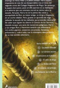 Abdeckungen Harry Potter y la cámara secreta