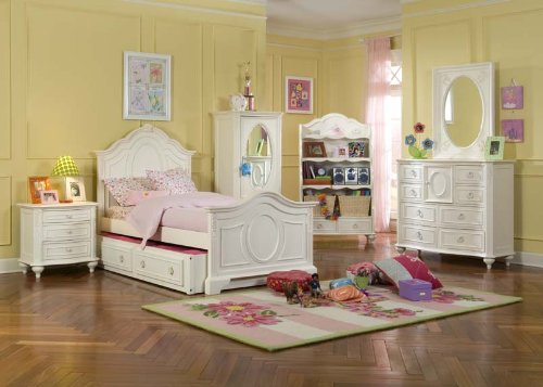 Image of 485 Enchantment Panel Bedroom Set by Legacy Classic Kids (B0030NIIJO)