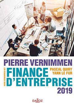 Livres Couvertures de Finance d'entreprise 2019 - 17e éd.