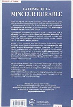 Livres Couvertures de La cuisine de la minceur durable : Avec 90 recettes savoureuses et bonnes pour la santé