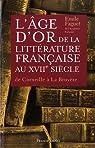 L'âge d'or de la littérature française