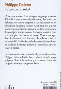Telecharger Le trottoir au soleil de Philippe Delerm