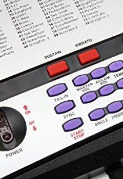 Livres Couvertures de McGrey BK-5410 Clavier 54 touches 100 sonorités 100 rythmes Fonction apprentissage d'alimentation inclus