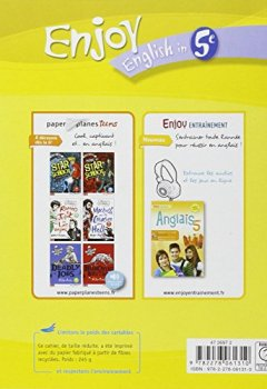 Livres Couvertures de Enjoy English in 5e : Workbook