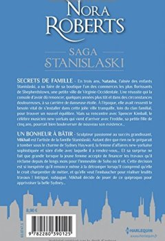 Livres Couvertures de Saga Stanislaski - Volume 1: Secrets de famille-Un bonheur à bâtir