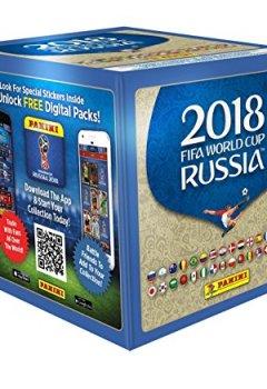 Livres Couvertures de Coupe du monde  2401-003 2018 STICKERS Boîte de 50 pochettes stickers - version française