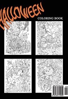 Livres Couvertures de Halloween!: Adult Coloring Book