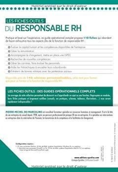 Livres Couvertures de Les fiches outils du responsable RH : 110 fiches opérationnelles, 176 schémas explicatifs, 113 conseils personnalisés, 70 cas pratiques