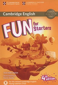 Livres Couvertures de Fun for Starters Teacher's Book with Downloadable Audio