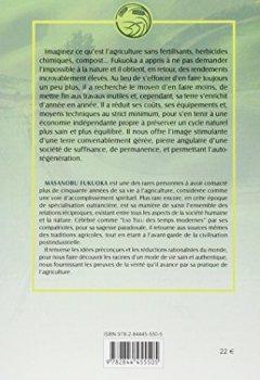 Livres Couvertures de L'agriculture naturelle : theorie et pratique pour une philosophie verte