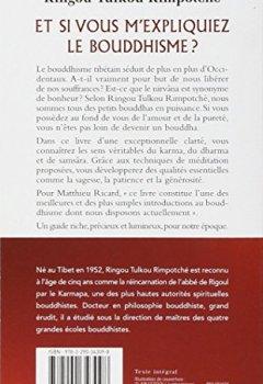 Livres Couvertures de Et si vous m'expliquiez le bouddhisme ? : Les principes fondamentaux du bouddhisme tibétain