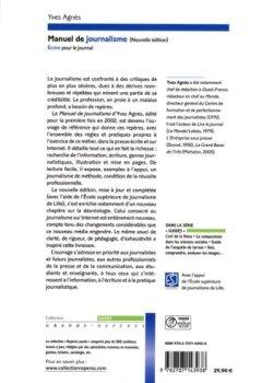 Livres Couvertures de Manuel de journalisme