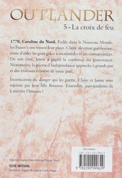 Livres Couvertures de Outlander, Tome 5 : La croix de feu