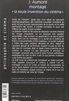 Livres Couvertures de Le montage. « La seule invention du cinéma »