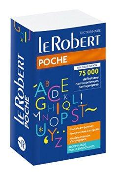 Livres Couvertures de Dictionnaire Le Robert de Poche
