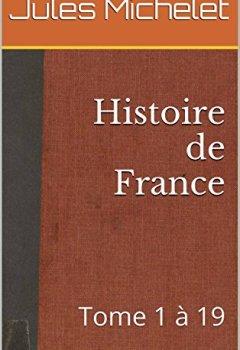 Livres Couvertures de Histoire de France (annoté): Tome 1 à 19