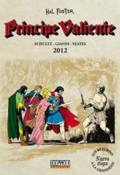Portada del libro dePrincipe valiente 2012