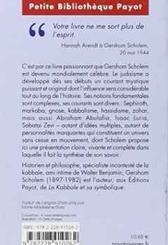 Livres Couvertures de Les grands courants de la mystique juive