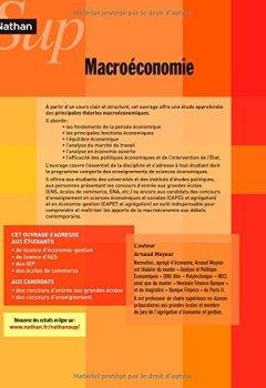 Livres Couvertures de Macroéconomie