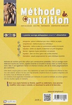 Livres Couvertures de Méthode de Nutrition : Gérer l'équilibre - L'alimentation maîtrisée au service de vos projets : Esthétique, Bien-être, Performance