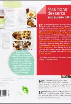 Livres Couvertures de Mes bons desserts aux sucres naturels