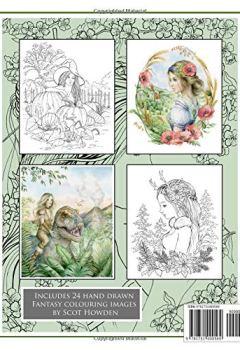 Livres Couvertures de Colouring Fantasy Volume 3: Colouring Book By Scot Howden