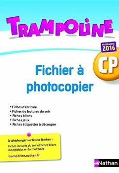 Fichier à photocopier Trampoline CP de Indie Author