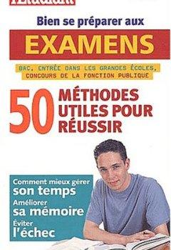 Livres Couvertures de 50 méthodes utiles pour bien se préparer aux examens
